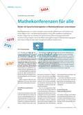 Mathekonferenzen für alle - Kinder mit Sprachschwierigkeiten in Mathekonferenzen unterstützen Preview 1