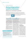 Reihenfolgezahlen und ihre Summen - Mathekonferenzen in arbeitsteiligen Forschersträngen Preview 1