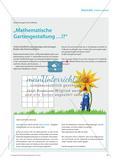"mathe spezial - ""Mathematische Gartengestaltung …!?"" Preview 1"