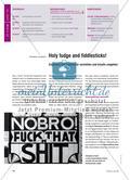Holy fudge and fiddlesticks! - Englische Schimpfwörter verstehen und kreativ umgehen Preview 1