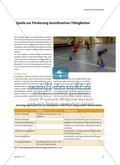 Schulung koordinativer Fähigkeiten in Spielformen Preview 2