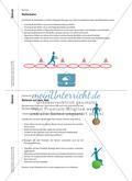 Koordinative Übungen zum Laufen, Springen und Werfen Preview 2