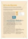 Hochintensives Intervall-Training in fünf Praxismodulen Preview 1