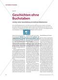 Geschichten ohne Buchstaben - Literatur sehen: Sprachbildung mit textfreien Bilderbüchern Preview 1