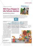 Mit Frau Hoppe in die Schule starten - Sprachförderung von Anfang an Preview 1