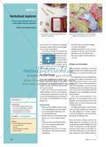 Kunst_neu, Sekundarstufe I, Flächiges Gestalten, Malen, Farbkontraste, Buntstifte, Qualitätskontrast, Farbkontrast, Lineaturzeichnung, Blätter