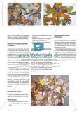 Herbstlaub kopieren - Einen bunten Blätterhaufen mit einem Blatt-Prototyp gestalten Preview 2