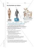 Antike Figuren nachstellen - Eine körperliche Erfahrung Preview 2