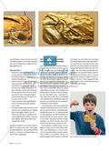 """Magisches Amulett aus """"Gold"""" - Das Lieblingstier als Schmuckrelief herstellen Preview 4"""