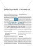 """Kollaboratives Handeln im Kunstunterricht - Eine kunstdidaktische Positionierung in Anbetracht einer aktuellen """"Kultur des Teilens"""" Preview 1"""