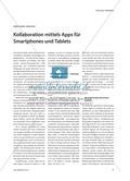 Kollaboration mittels Apps für Smartphones und Tablets Preview 1