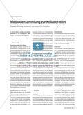 Methodensammlung zur Kollaboration - Gruppenbildung, Austausch, gemeinsames Gestalten Preview 1