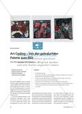 Art Cycling – von der gebrauchten Palette zum Bild: Eine Übungssequenz für Klasse 6 Preview 1