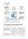 Kunst_neu, Sekundarstufe I, Sekundarstufe II, Flächiges Gestalten, Gestalten, Praktik, Etüden, Repertoires, Kunst