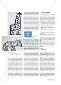 Tierdarstellungen - Abstrahierte Pinselzeichnungen Preview 3