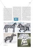 Tierdarstellungen - Abstrahierte Pinselzeichnungen Preview 4