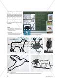 Tierdarstellungen - Abstrahierte Pinselzeichnungen Preview 5