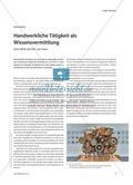 Handwerkliche Tätigkeit als Wissensvermittlung - Zum Werk von Eric van Hove Preview 1