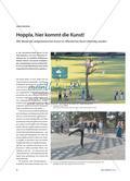 Hoppla, hier kommt die Kunst! - Wie Werke der zeitgenössischen Kunst im öffentlichen Raum lebendig werden Preview 1
