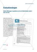 Evaluationsbogen: Andere Meinungen respektieren und zum Weiterdenken nutzen – kann ich das? Preview 1