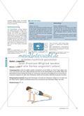 Selbstbestimmt mit Kraftbelastungen umgehen - Kraftstationen nach den eigenen Bedürfnissen modifizieren und variieren Preview 3