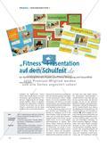 """""""Fitness""""-Präsentation auf dem Schulfest - Ein fächerübergreifendes Projekt zum Thema Bewegung und Gesundheit Preview 1"""