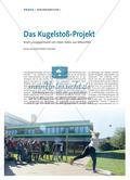 Das Kugelstoß-Projekt - Einen Lerngegenstand von vielen Seiten aus beleuchten Preview 1