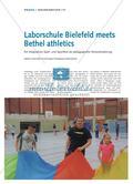 Laborschule Bielefeld meets Bethel athletics - Ein integratives Spiel- und Sportfest als pädagogische Herausforderung Preview 1
