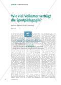Wie viel Volkamer verträgt die Sportpädagogik? - Meinhart Volkamer zum 80. Geburtstag Preview 1