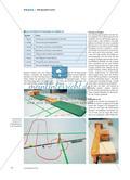 Minigolf in der Turnhalle - Schülerinnen und Schüler einer Grundschule gestalten ihre eigenen Bahnen und organisieren ein Minigolfturnier Preview 3