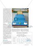 Minigolf in der Turnhalle - Schülerinnen und Schüler einer Grundschule gestalten ihre eigenen Bahnen und organisieren ein Minigolfturnier Preview 4