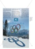 Winterspiele in Wattenscheid - Schülerinnen und Schüler entwickeln in Anlehnung an die Olympischen Winterspiele ihre eigenen Disziplinen für einen Wettkampf in der Sporthalle Preview 2
