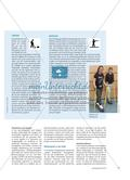 Winterspiele in Wattenscheid - Schülerinnen und Schüler entwickeln in Anlehnung an die Olympischen Winterspiele ihre eigenen Disziplinen für einen Wettkampf in der Sporthalle Preview 4