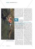 Mut, Kraft und Selbstüberwindung - Beim Klettern stärken Schülerinnen und Schüler ihre sozialen Kompetenzen und müssen mit Grenzerfahrungen umgehen Preview 3