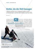 Sport_neu, Sekundarstufe I, Sekundarstufe II, Gleiten, Rollen und Fahren/ Wintersport, Ski-Alpin, Ski, Skifahren, Sport-Raum, Mono-Ski, Bi-Ski