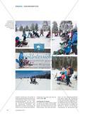 """Bretter, die die Welt bewegen - Schülerinnen und Schüler einer 10. Jahrgangsstufe begleiten im Projekt """"Miteinander Skifahren"""" Lernende mit Behinderungen, die auf Mono- und Bi-Skis neue Erfahrungen in einem ihnen bisher unbekannten Sport-Raum machen Preview 3"""