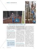 Ab in den Wald - In einem Sportprojekt entwerfen und bauen Schülerinnen und Schüler der Oberstufe einen Mehrgenerationen-Parcours Preview 4