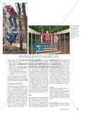 Ab in den Wald - In einem Sportprojekt entwerfen und bauen Schülerinnen und Schüler der Oberstufe einen Mehrgenerationen-Parcours Preview 5