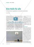 Eine Halle für alle - Zur Barrierefreiheit, Zugänglichkeit und Nutzbarkeit von Sporthallen Preview 1