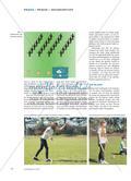 Werfen wie die Wikinger - Das skandinavische Wurf- und Geschicklichkeitsspiel Kubb eignet sich, das Werfen auf feste Ziele zu üben oder zu vervollkommnen und es lässt sich darüber hinaus im Werk- oder Technikunterricht leicht selbst herstellen Preview 3