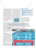 Werfen und Fangen im Wasser - Ein Mini-Wasserballspiel als Alternative im Schwimmunterricht, das alle Schülerinnen und Schüler ihren Lernvoraussetzungen entsprechend herausfordert Preview 3