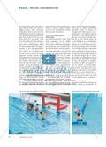 Werfen und Fangen im Wasser - Ein Mini-Wasserballspiel als Alternative im Schwimmunterricht, das alle Schülerinnen und Schüler ihren Lernvoraussetzungen entsprechend herausfordert Preview 4