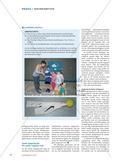 Werfen mit dem Schweifball - Schülerinnen und Schüler basteln sich ein Wurfgerät und erkunden verschiedene Möglichkeiten, wie dieses geworfen werden kann Preview 3