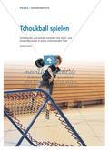 Tchoukball spielen - Schülerinnen und Schüler erweitern ihre Wurf- und Fangerfahrungen in einem motivierenden Spiel Preview 1