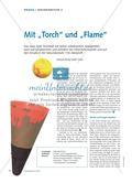 """Mit """"Torch"""" und """"Flame"""" - Das neue Spiel Torchball mit bisher unbekannten Spielgeräten wird von Schülerinnen und Schülern der Oberstufe erprobt und auf den Einsatz in der Sekundarstufe I hin überprüft Preview 1"""