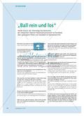 """""""Ball rein und los"""" - Heiner Brand, der ehemalige Bundestrainer der Deutschen Männer-Nationalmannschaft im Handball, über gelungene Pässe und Handball im Sportunterricht Preview 1"""