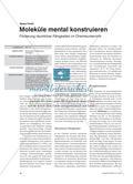 Moleküle mental konstruieren - Förderung räumlicher Fähigkeiten im Chemieunterricht Preview 1