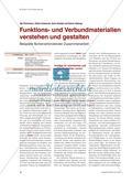 Funktions- und Verbundmaterialien verstehen und gestalten - Beispiele fächerverbindender Zusammenarbeit Preview 1