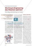 Wie Enzym-Engineering das Waschen optimiert - Struktur-Eigenschafts-Beziehungen bei Proteasen Preview 1