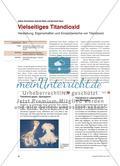 Vielseitiges Titandioxid - Herstellung, Eigenschaften und Einsatzbereiche von Titandioxid Preview 1